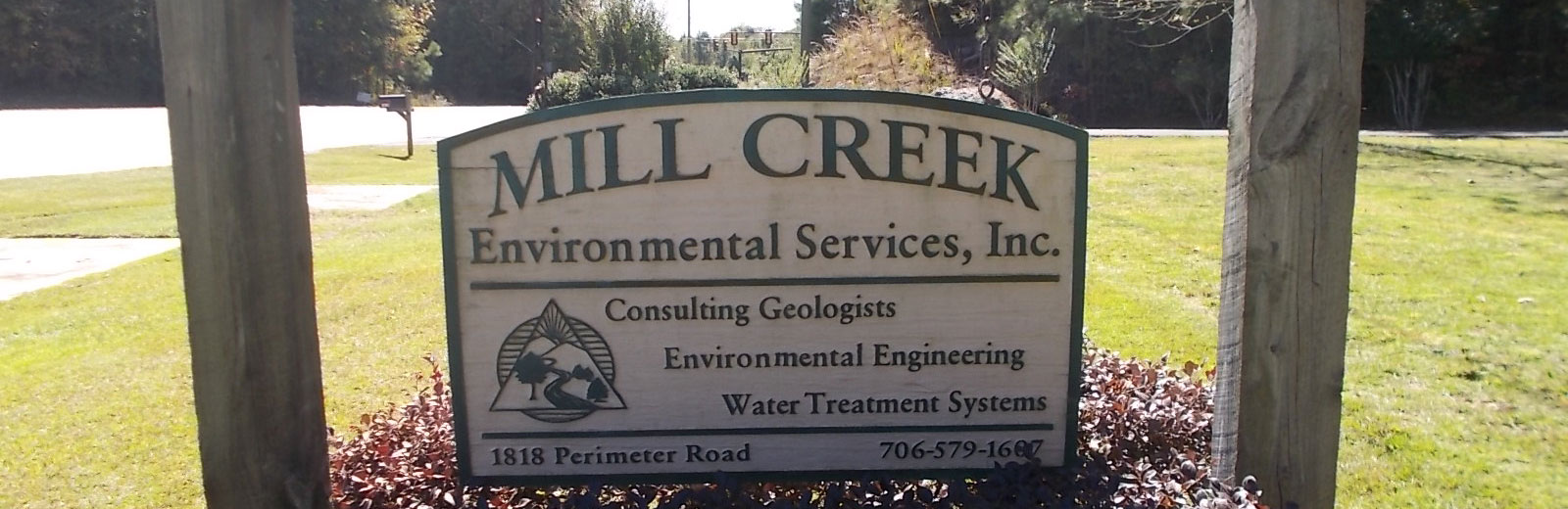 Mill Creek Environmental Sign